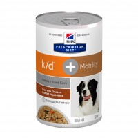 Prescription - HILL'S Prescription Diet k/d +  Mobility canine mijoté