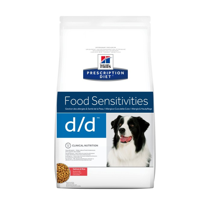 Alimentation pour chien - Hill's Prescription Diet d/d Food Sensitivities pour chiens