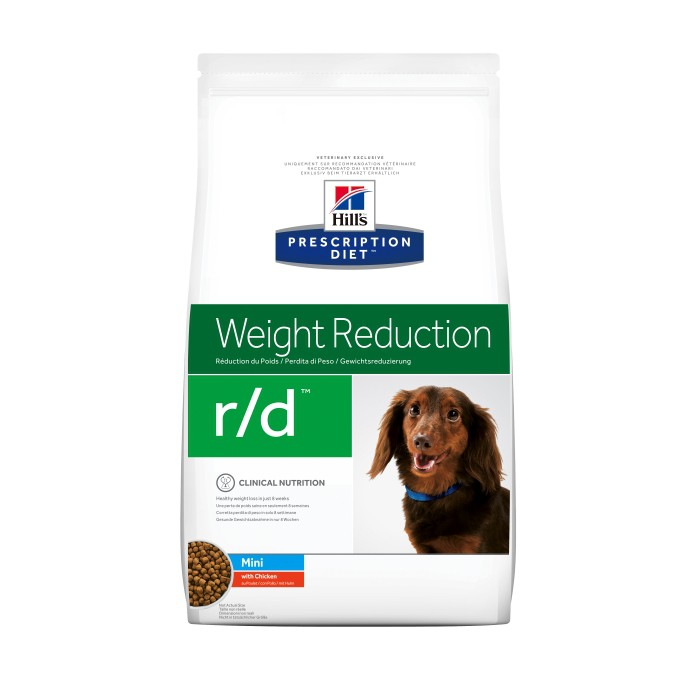 Alimentation pour chien - Hill's Prescription Diet r/d Mini Weight Reduction pour chiens
