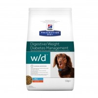 Prescription - HILL'S Prescription Diet Canine w/d Mini