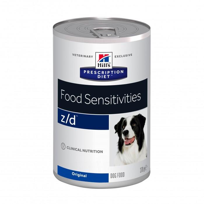 Alimentation pour chien - Hill's Prescription Diet Canine z/d Food Sensitivities - pâtées pour chiens