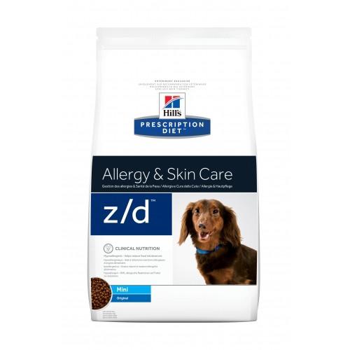 Alimentation pour chien - Hill's Prescription Diet z/d Mini Allergy & Skin Care pour chiens