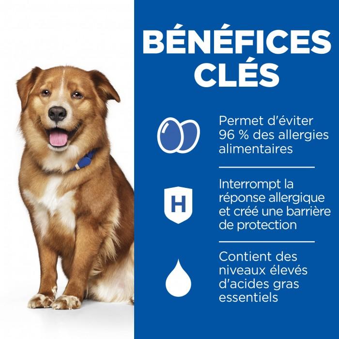 Alimentation pour chien - Hill's Prescription Diet Derm Complete pour chiens