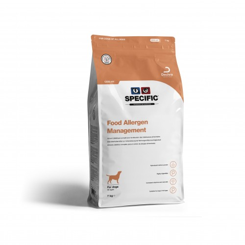 Alimentation pour chien - SPECIFIC Food Allergy Management CDD-HY pour chiens