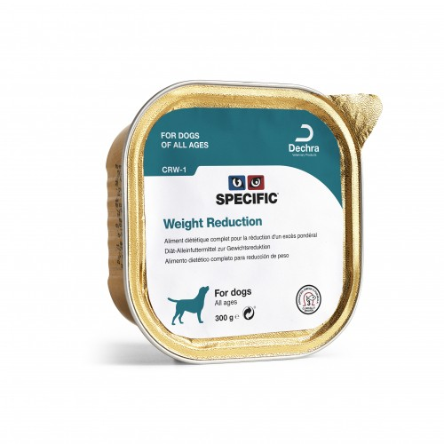 Alimentation pour chien - SPECIFIC Weight Reduction CRD-1 et CRW-1 pour chiens