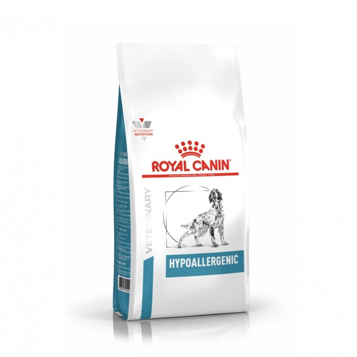 Alimentation pour chien - Royal Canin Veterinary Hypoallergenic pour chiens