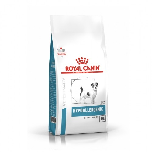 Alimentation pour chien - Royal Canin Veterinary Hypoallergenic Small Dogs pour chiens