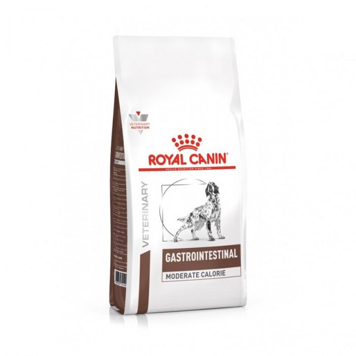 Alimentation pour chien - Royal Canin Veterinary Gastro Intestinal Moderate Calorie pour chiens
