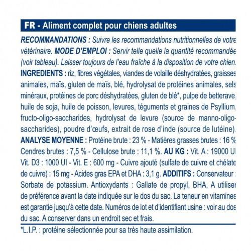 Alimentation pour chien - Royal Canin Veterinary GastroIntestinal High Fibre pour chiens