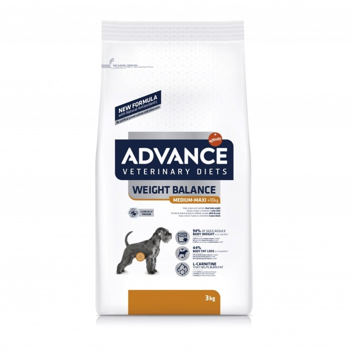 Alimentation pour chien - ADVANCE Veterinary Diets Weight Balance Medium/Maxi pour chiens