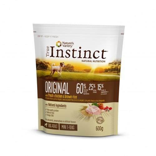 Alimentation pour chien - True Instinct / Nature's Variety Original Mini Adult pour chiens