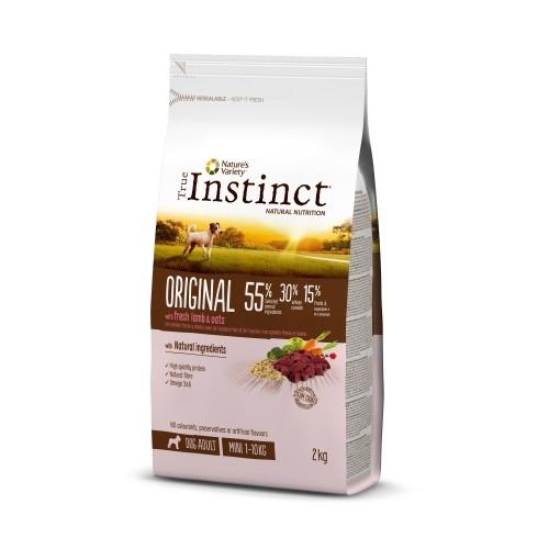 Alimentation pour chien - True Instinct Original Mini Adult pour chiens