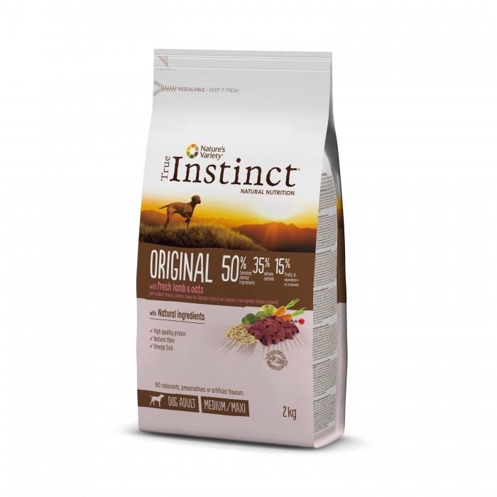 Alimentation pour chien - True Instinct Original Medium Maxi Adult pour chiens