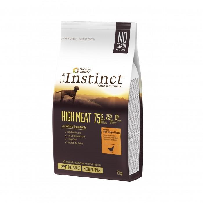 Alimentation pour chien - True Instinct High Meat Medium Maxi Adult Poulet pour chiens