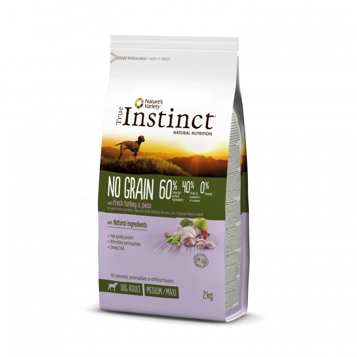 Alimentation pour chien - True Instinct / Nature's Variety Original No Grain Medium Maxi Adult pour chiens