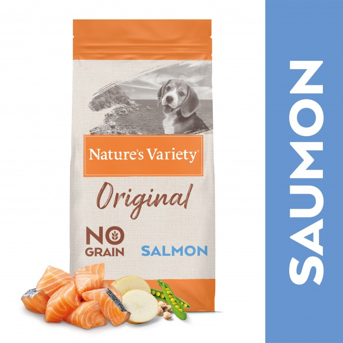 Alimentation pour chien - True Instinct / Nature's Variety Orginal No Grain Medium Maxi Junior pour chiens