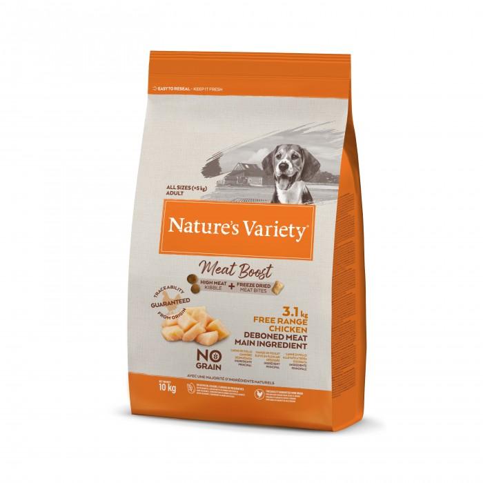 Alimentation pour chien - Nature's Variety Meat Boost Grain Free - Adulte pour chiens