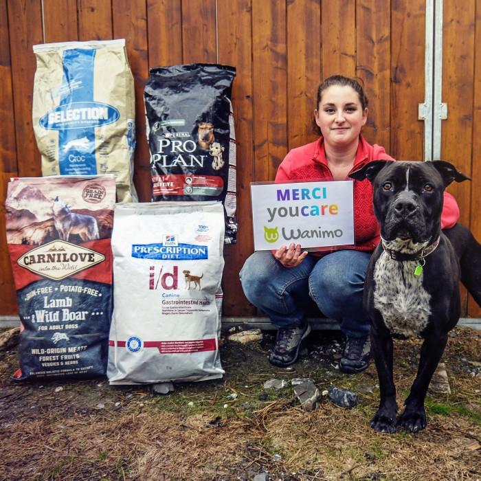 Alimentation pour chien - Offrez 35 repas aux animaux des refuges, YouCare pour chiens