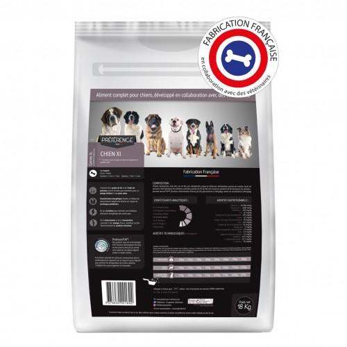 Alimentation pour chien - PRÉFÉRENCE Chien - XL pour chiens