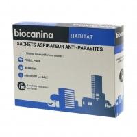 Insecticide pour habitat - Sachets aspirateur anti-parasites Biocanina