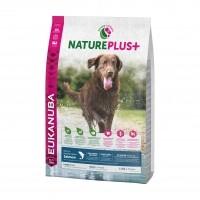 Croquettes pour chien - Eukanuba Nature Plus Adult Large Adulte Grandes Races - Saumon