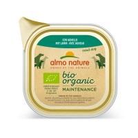 Pâtée en barquette pour chien - Almo Nature BioOrganic Maintenance Adult - 6 x 100 g Bio Organic - 6 x 100 g