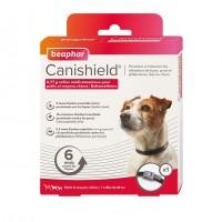 Anti-tiques, puces et phlébotomes pour chien - Collier Canishield Beaphar