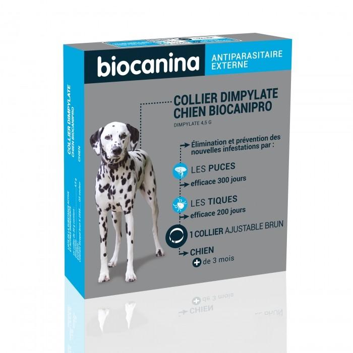 Anti puce chien, anti tique chien - Biocanipro pour chiens