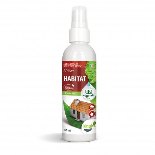 Anti puce chien, anti tique chien - Spray Bio Habitat pour chiens