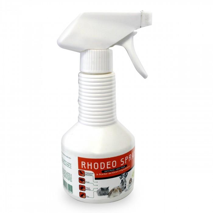 Anti puce chien, anti tique chien - Spray Rhodeo pour chiens