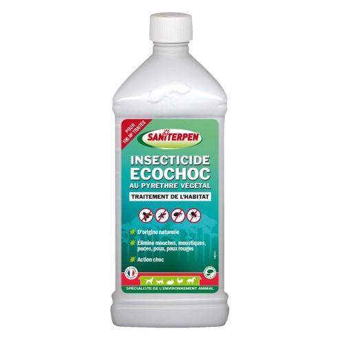 Tiques, puces & vers - Insecticide Ecochoc concentré pour rongeurs