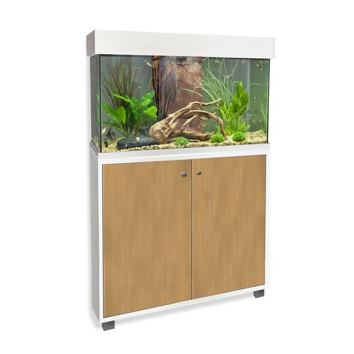 Aquarium et meuble fluval accent aquarium fluval wanimo for Meuble accent