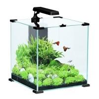 Aquarium - Aquarium CUBE Nanolife Noir Zolux