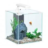 Aquarium - Aquarium CUBE Nanolife Blanc Zolux