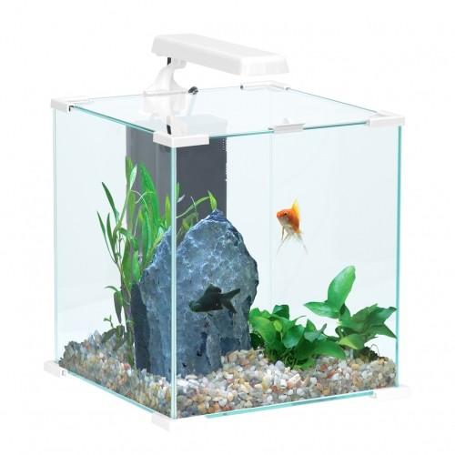 Aquarium - Aquarium CUBE Nanolife Blanc pour poissons