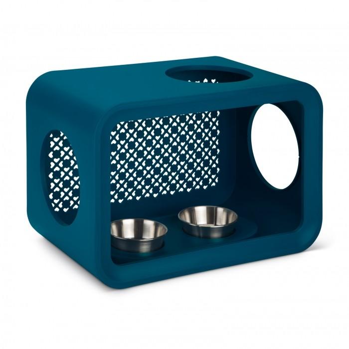 Arbre à chat et griffoir - Ensemble Cat Cubes Sleep, Dinner, Play & Scratch pour chats