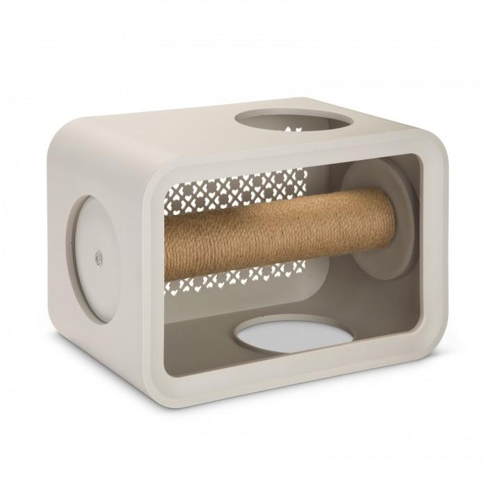 Arbre à chat et griffoir - Cat Cube Scratch pour chats