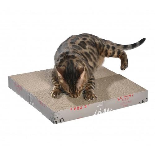 Griffoirs pour chat - Griffoir Zigzag modulable Bobby