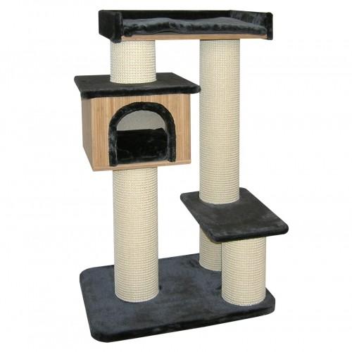 Arbre à chat et griffoir - Arbre à chat Bamboo Résidence pour chats