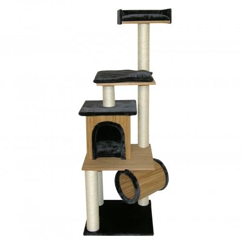 Arbre à chat et griffoir - Arbre à chat Bamboo pour chats