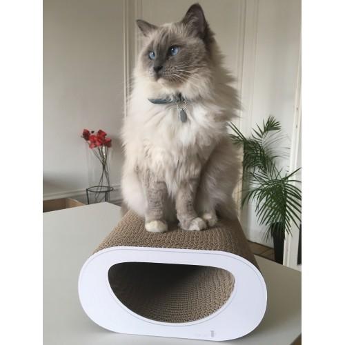 Arbre à chat et griffoir - Griffoir Le Tunnel pour chats