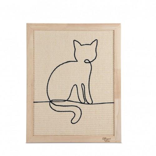 Arbre à chat et griffoir - Tableau à griffer Sammy pour chats