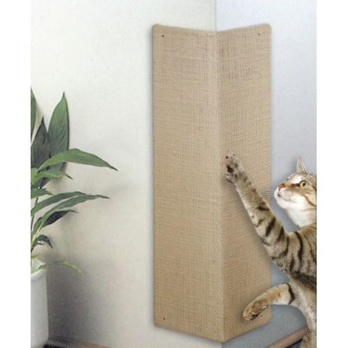 Arbre à chat et griffoir - Planche à griffer d'angle pour chats