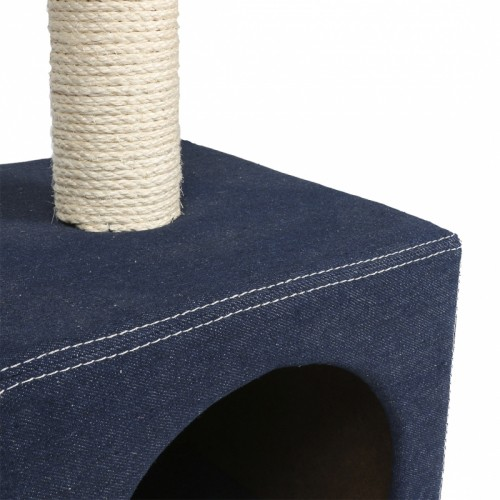 Arbre à chat et griffoir - Arbre à chat Palazzo Denim pour chats