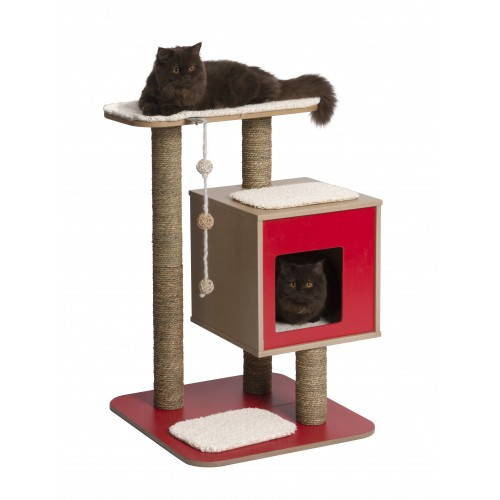 Arbre à chat et griffoir - Arbre à chat Vesper Basic pour chats