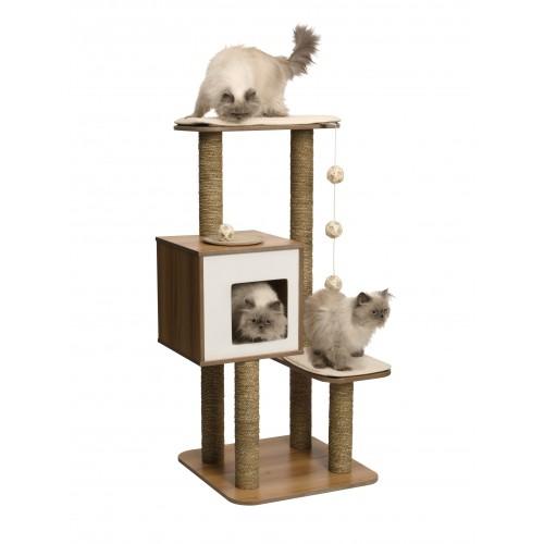 Arbre à chat et griffoir - Arbre à chat Vesper Top pour chats