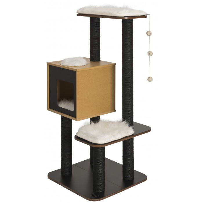 arbre chat vesper top arbre chat wanimo. Black Bedroom Furniture Sets. Home Design Ideas