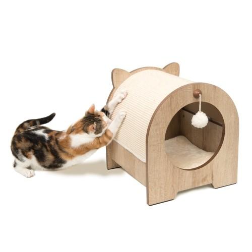 Arbre à chat et griffoir - Griffoir Minou pour chats