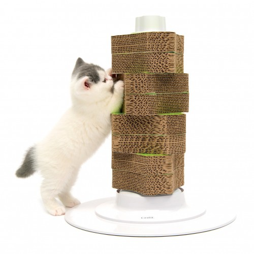 Griffoir en carton senses 2 0 griffoir pour chat cat it wanimo - Arbre a chat truffaut ...