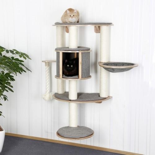 Arbre à chat et griffoir - Arbre à chat mural Dolomit Tofana Pro pour chats